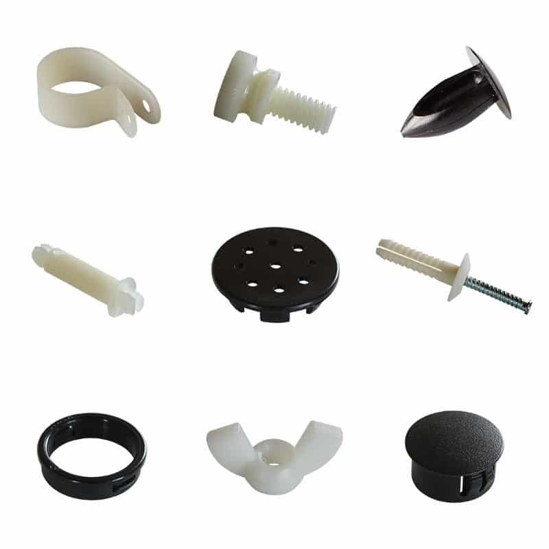Nylon Fasteners - LEP Engineering Plastics